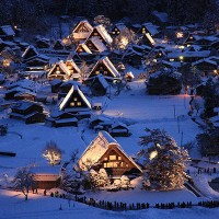 หมู่บ้านชิราคาว่า-ประเทศญี่ปุ่น