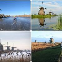 kinderdijk-ทุ่งกังหันแห่งฮอลแลนด์