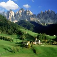 เทือกเขาโดโลไมท์-ประเทศอิตาลี