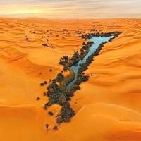 เที่ยวลิเบีย-โอเอซิสอุราบี-ความชุ่มชื้นท่ามกลางทะเลทรายอันแห้งแล้ง