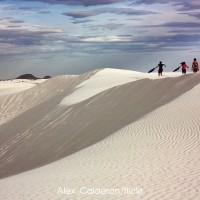 ทะเลทรายสีขาวอันน่าเหลือเชื่อ-ณ-นิวเม็กซิโก