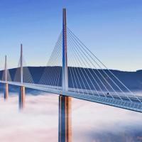 เที่ยวฝรั่งเศส-สะพานมีโย-สะพานขึงที่สูงที่สุดในโลก