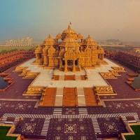 อักชารดาห์ม-วัดฮินดูสุดน่าทึ่งแห่งประเทศอินเดีย